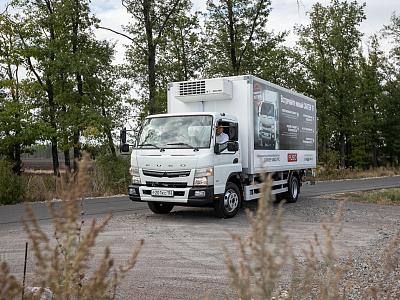 ООО «ДАЙМЛЕР КАМАЗ РУС» и официальный дилер FUSO в г. Воронеж компания «ГрузАвто Сервис-36» представили клиентам грузовики Canter TF нового поколения.