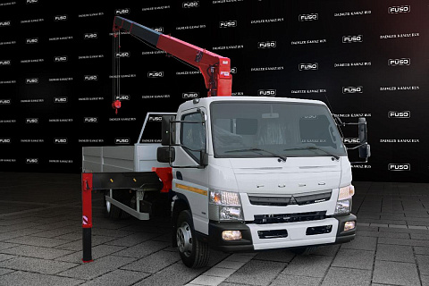 FUSO CANTER TF Манипулятор с КМУ Юник