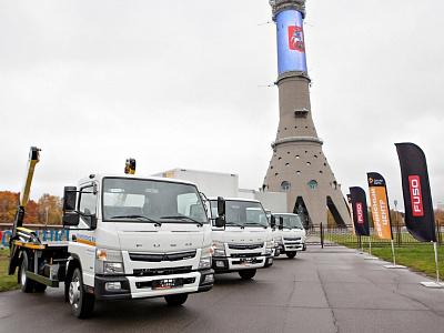ООО «ДАЙМЛЕР КАМАЗ РУС» и официальный дилер FUSO в Москве компания «ДАКАР-АВТО» представили клиентам грузовики Canter TF нового поколения.