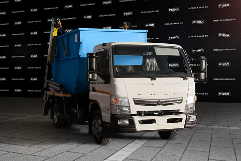 Бункеровоз на шасси FUSO CANTER TF