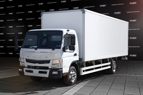 FUSO CANTER TF Фургон Изотермический Сэндвич фургон ППУ 50мм