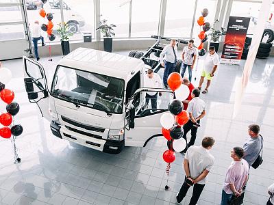 ООО «ДАЙМЛЕР КАМАЗ РУС» и официальный дилер FUSO в г. Горячий ключ компания «КЛЮЧАВТО» представили клиентам грузовики Canter TF нового поколения.